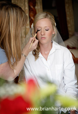 goldsborough hall wedding bridal makeup