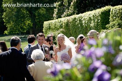 goldsborough hall wedding gardens