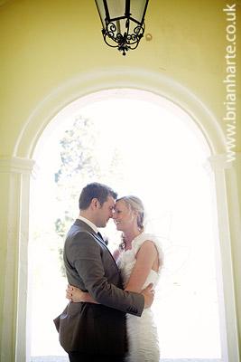 goldsborough hall wedding arch