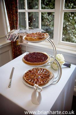 wedding fruit tarts
