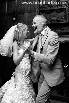 ceilidh dancing fun bride
