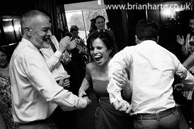 ceilidh dancing bridesmaid fun