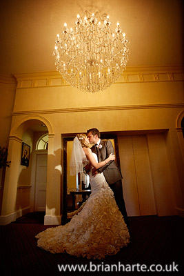 classic wedding shot chandelier