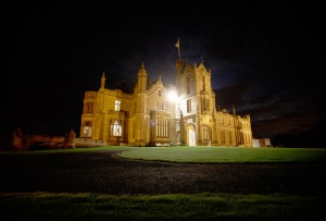 Allerton Castle wedding photo by Brian Harte