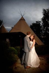 A photo of a Papakata wedding by Brian Harte